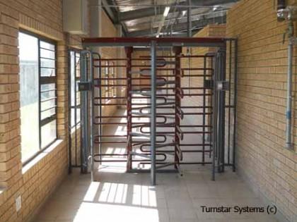TRIUMPH 4 security turnstile gates