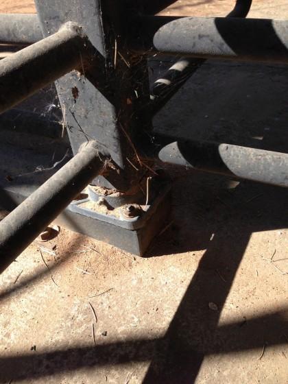 Turnstile base bearing