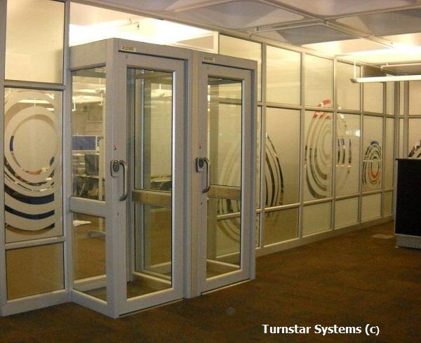 Man trap security booths for south african bank turnstar - Standard bank head office contact details ...