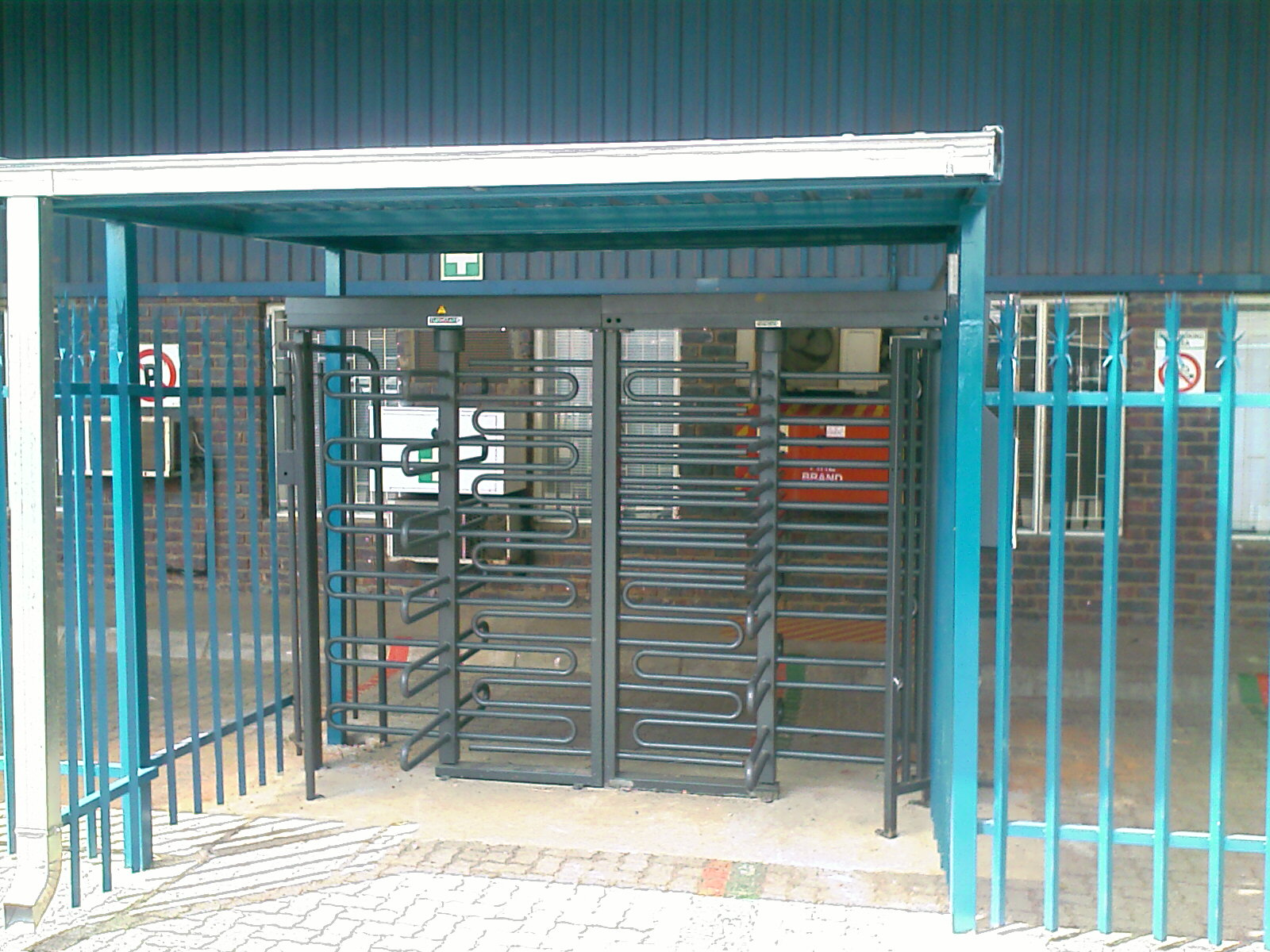 security turnstiles for industry