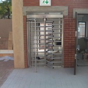 industrial stainless steel turnstile