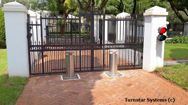 Bollards For Pretoria Embassy Projects Turnstar