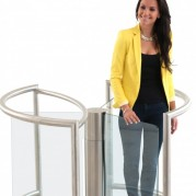 Charisma glass turnstile