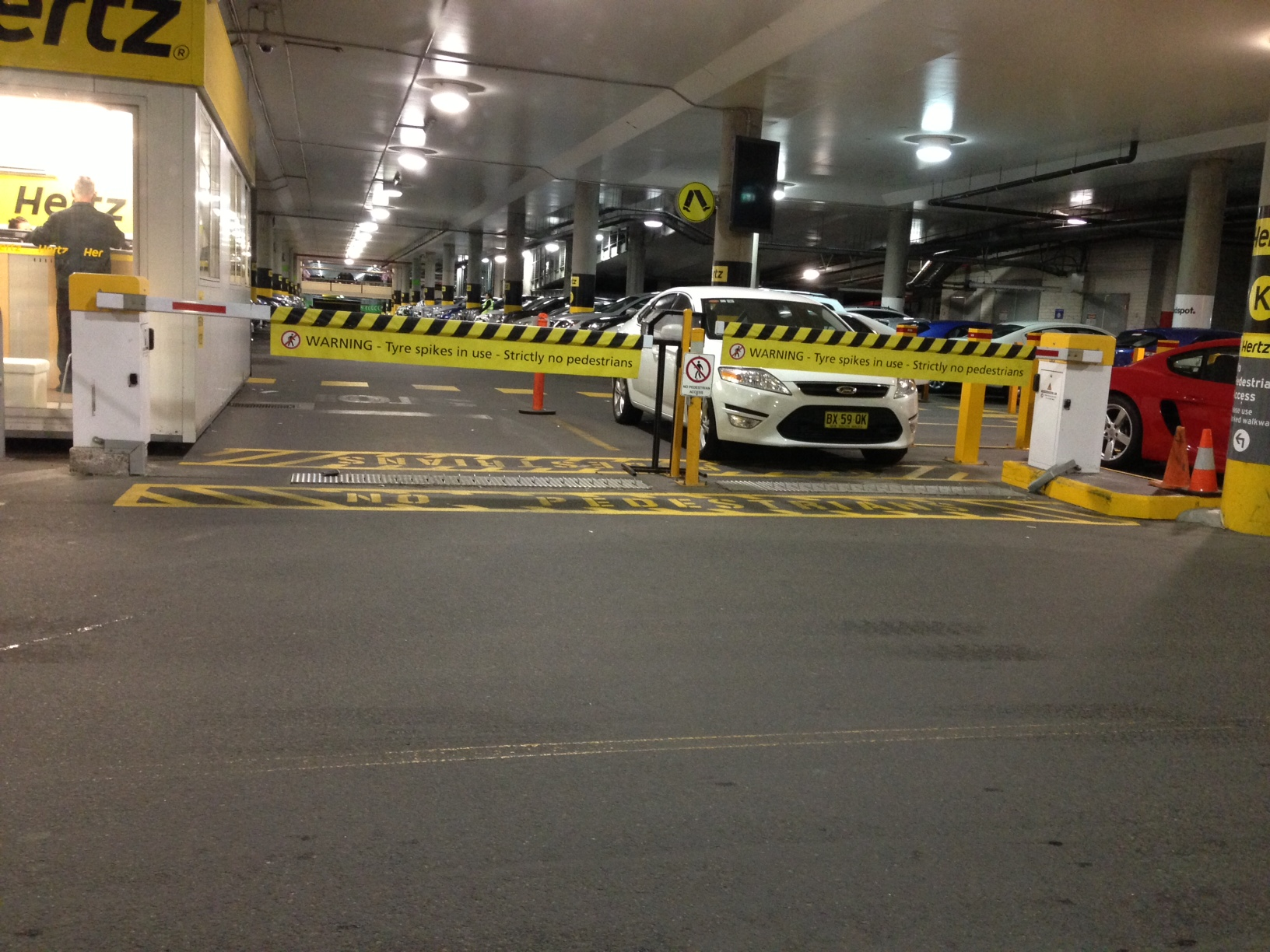melbourne airport barriers