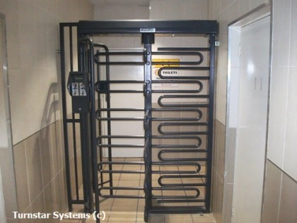 coin acceptor turnstile - pay for entry turnstile