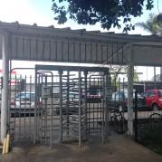 Omnicane Mauritius turnstiles