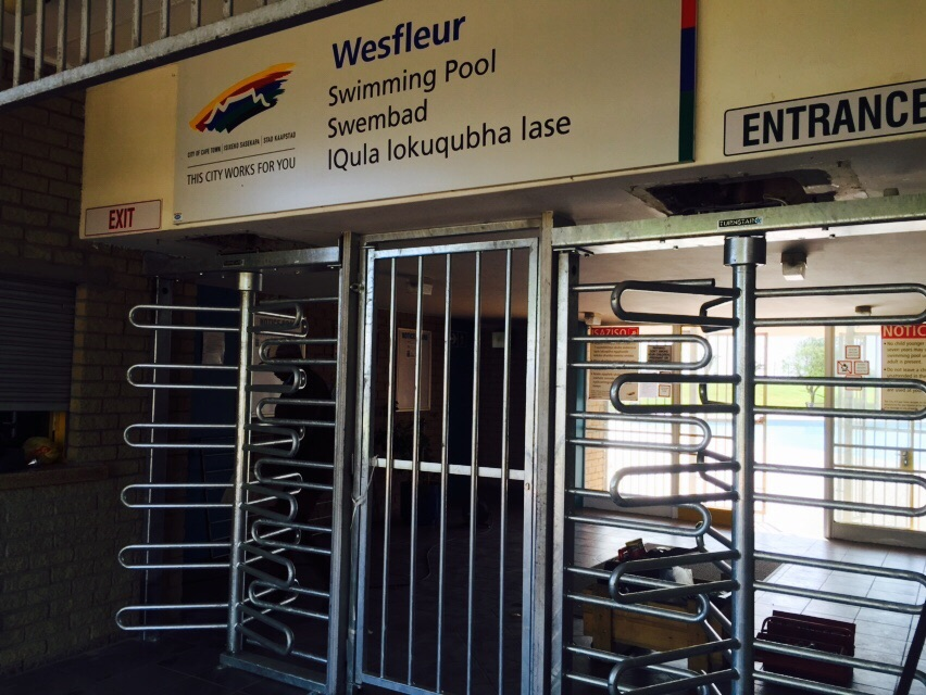 Western Cape Public Pools Turnstiles Projects Turnstar