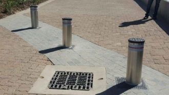 Bollards for Mall of Africa