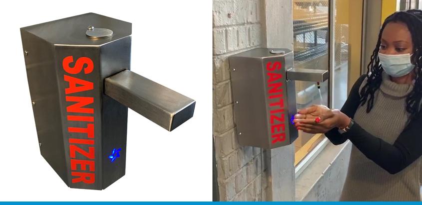 Hygie-Hand 2 Automatic Hand Sanitiser