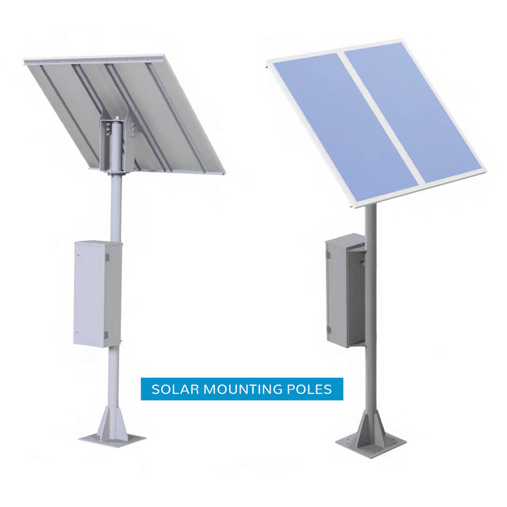 solar mounting poles